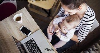 working millennial moms