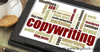 be a copywriter